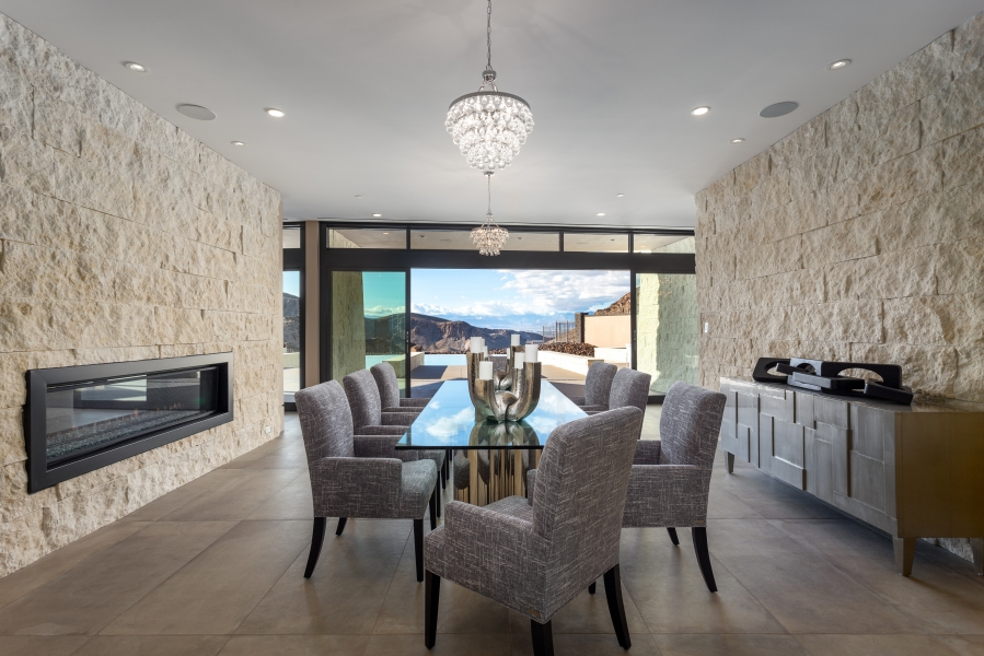 19 Sanctuary Peak Court | Dining Room Canyon Views